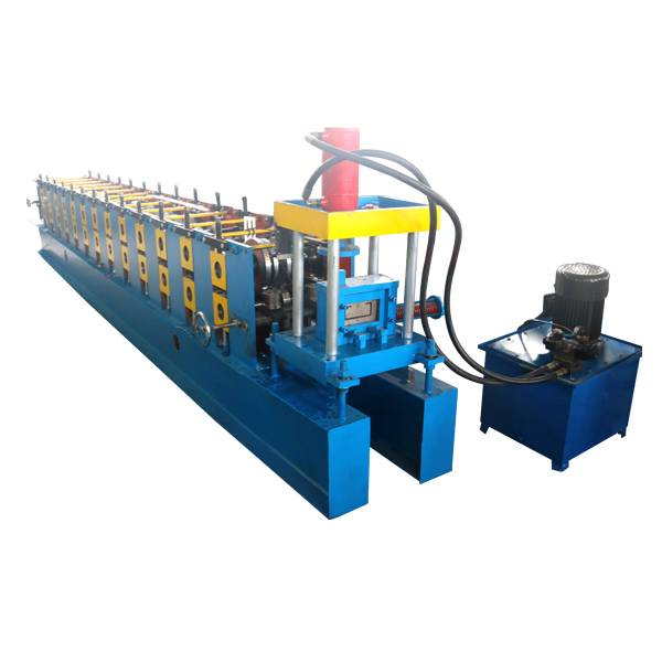 Best-Selling Color Stone Roof Sheet - C Shape Purlin Roll Forming Machine – Haixing Industrial