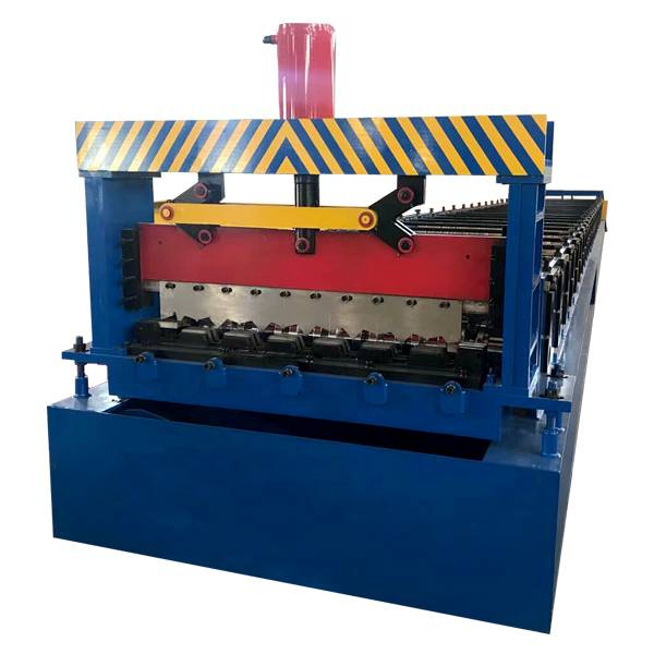 Wholesale Discount Gutter Cold Roll Forming Machine - Floor Deck Cold Roll Forming Machine – Haixing Industrial detail pictures