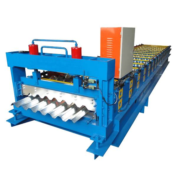 High Performance Aluminum T Grid Roll Forming Machine - Trapezoidal Roof Panel Roll Forming Machine – Haixing Industrial
