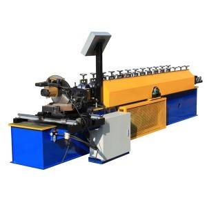 factory low price Automatic Galvanized Cold Steel Slat Roller Shutter Door Roll Forming Machine