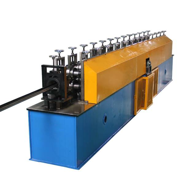 2017 High quality Used Z Purlin Roll Forming Machine From Zhejiang - China New Product Modern Design Promotional Metal Door Frame Machine With Uncoiler – Haixing Industrial
