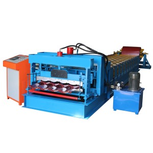 Super Purchasing for Speed Steel Color Sheet Metal Roof Panel Roll Forming Machine