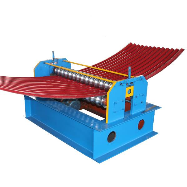 Super Lowest Price Automatic Color Steel Sheet Metal Rolling Portable Standing Seam Roofing Panel Roll Forming Curving Machine Featured Image