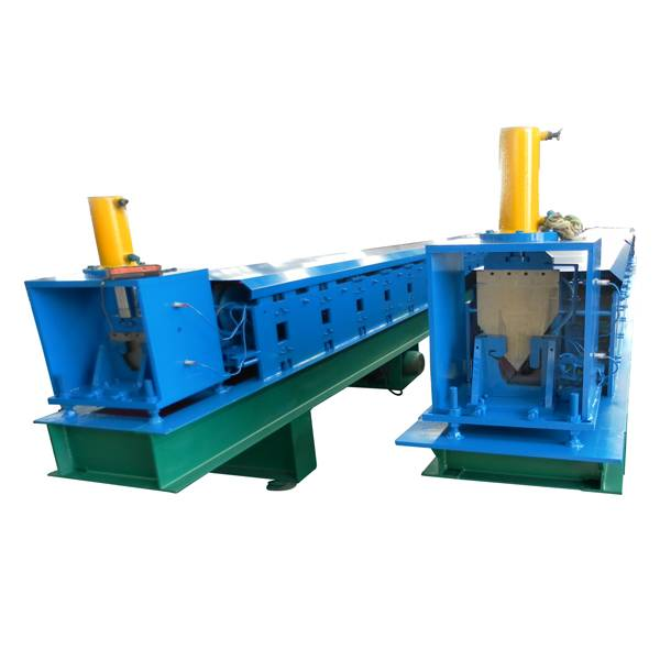 Well-designed Deck Roll Metal Forming Machine - Rain Gutter Cold Roll Forming Machine – Haixing Industrial Featured Image