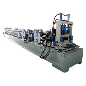 Leading Manufacturer for C Z U shaped steel purlin roll forming machine