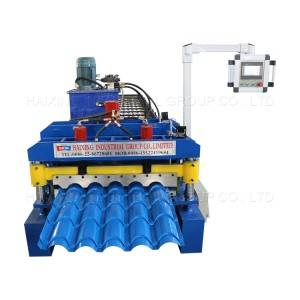 Europe style for Roll Forming Machine s Glazed Tile Forming Machine Roof Tile Making Machine