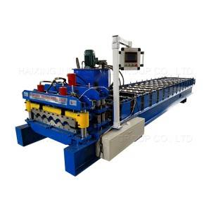Glazed Tile Forming Machine For Steel Roofing Sheet