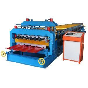 OEM Manufacturer Trapezoidal And Glazed Panel Roof Roll Forming Machine