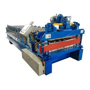 Factory Outlets Making Building Material Wall Panel Metal Roofing Corrugated Tile Roll Forming Machine For Sale