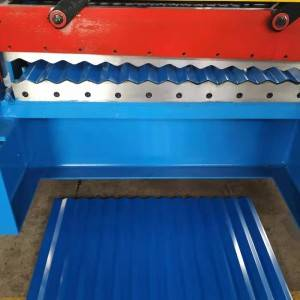 CE Automatic Roofing Sheet Roll Forming Machine