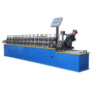2019 High quality Newest Prefab House Frame Light Gauge Steel Profile Keel Villa Sheet Roll Forming Machine For Building Material