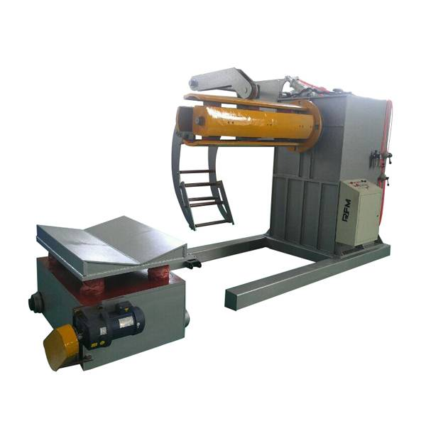 Low MOQ for Hydraulic Decoilers - Hydraulic decoiler with car – Haixing Industrial Featured Image