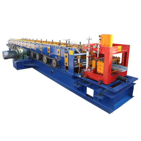 Best quality Sandwich Panel Roll Forming Machine - U Section Purlin Roll Forming Machine – Haixing Industrial