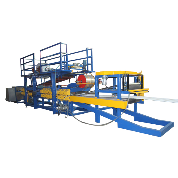 2017 China New Design Z Purlins Cold Roll Forming Machine - EPS Sandwich Wall Panel Forming Machine – Haixing Industrial