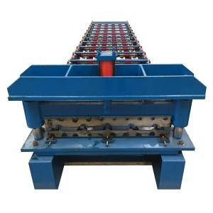Special Price for Roof Sheet Trapezoidal Steel Roll Forming Machine