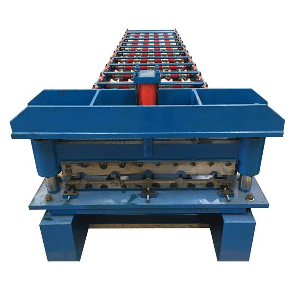 Hot New Products Stone Coated Roofing Machine - Trapezoidal Sheet Roll Forming Machine – Haixing Industrial