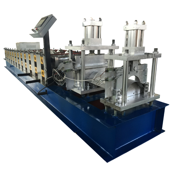Excellent quality Sheet Metal Guillotine Shearing Machine - Roof ridge making machine – Haixing Industrial