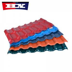 Competitive Price for Long Life Building Materials Asa Plastic Pvc Roof Tile/new Technology Construction Material/synthetic Resin Roof