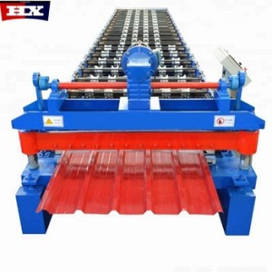 Ibr roof sheet panel trapezoidal roll forming machine