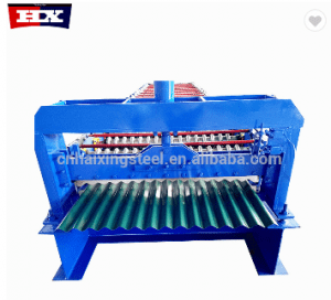 Corrugated Roof Metal Sheet  Roll Forming Machine