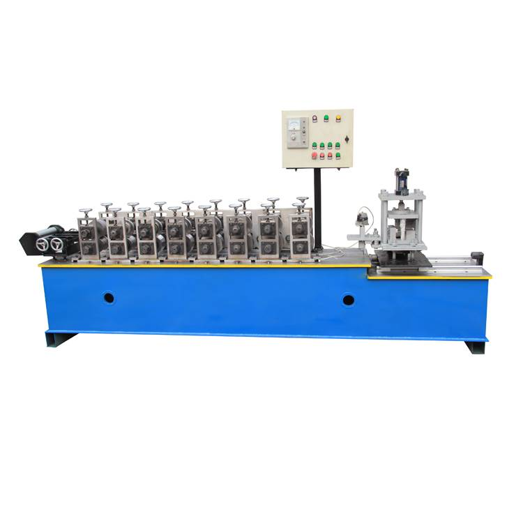OEM manufacturer Steel Floor Decking Roll Forming Machine - T grid roll forming machinery – Haixing Industrial