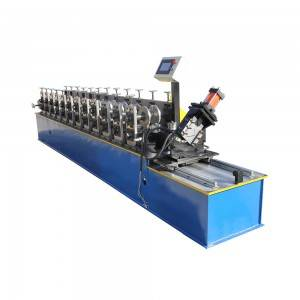 Factory Cheap Hot Durable Top Hat C Sheet Roofing Channel Machine/ Stud Track Making Machine