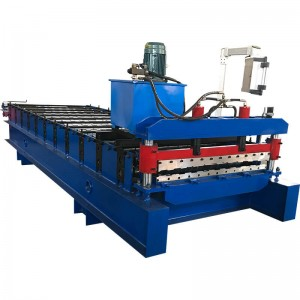 metal roof panel rolling machinery