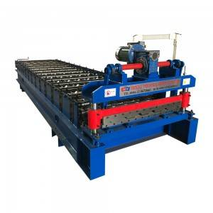 Wholesale Price Aluminum Roof Sheet Roll Forming Machine