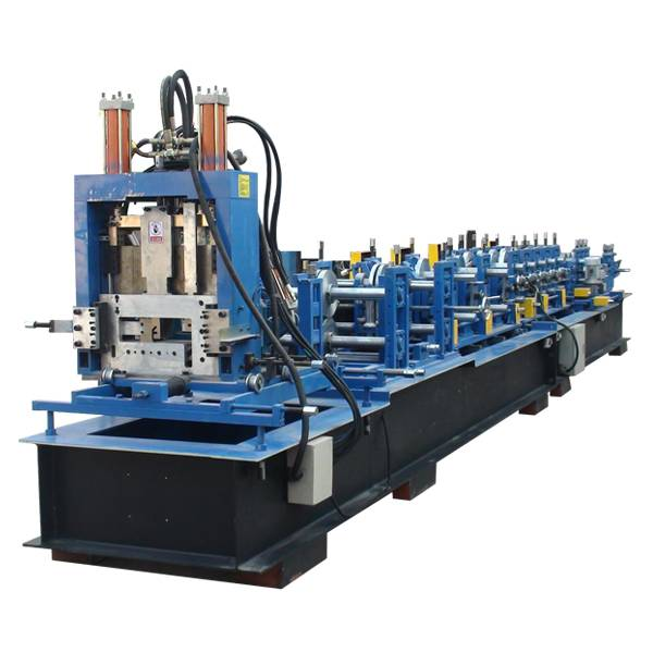 OEM/ODM China Steel Highway Guardrail Roll Forming Machine - Automatic CZ Shaped Steel Purlin roll Forming Machine – Haixing Industrial