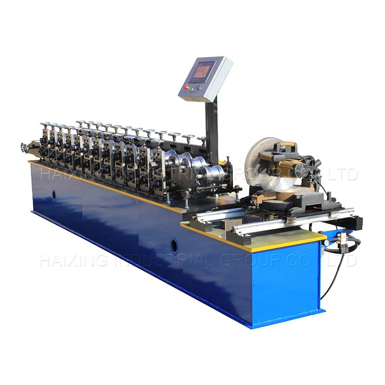 OEM/ODM Supplier Building Material Aluminum Shutter Door Roll Forming Machine Featured Image
