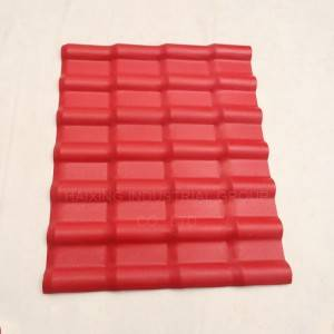 spanish synthetic resin roof tile