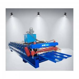 Metal Cold Roof Tile Trapezoidal Roof Machine