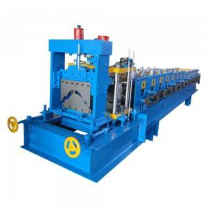 Cheapest Factory Superior Cold Steel Metal Roof Ridge Cap Roll Forming Machine