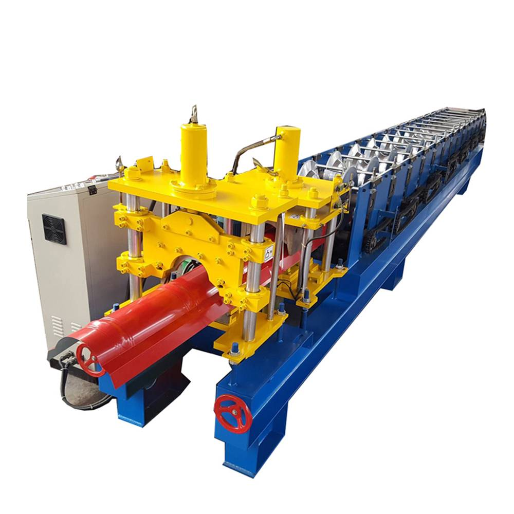 Discount wholesale Floor Decking Cold Rolling Forming Machine - Roof Ridge Roll Forming Machine – Haixing Industrial