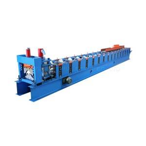 China high quality steel Ridge cap roof machine price
