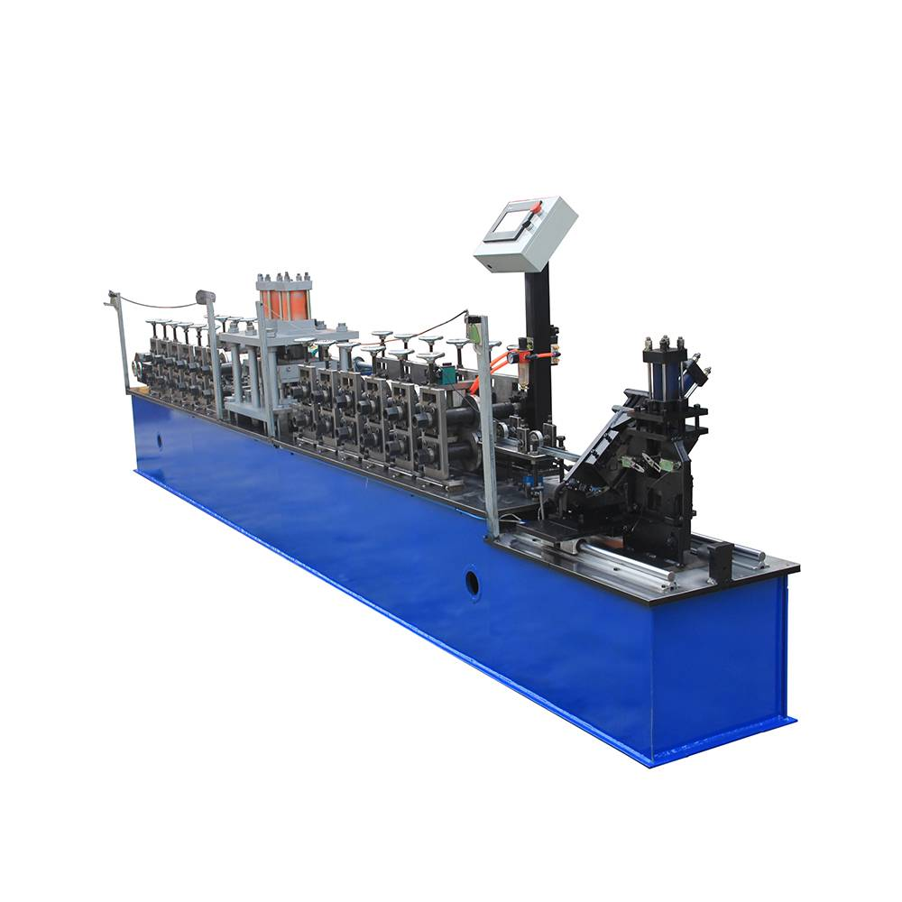 Short Lead Time for Roof Panel Ridge Cap Tile Machine - C U Light Keel Roll Forming Machine – Haixing Industrial