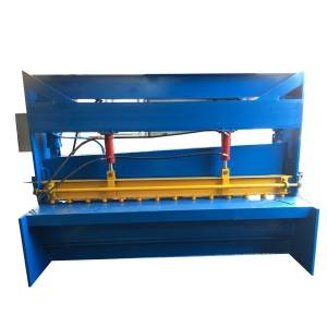 Supply ODM 125t E21 Metal Sheet Plate Hydraulic Manual Press Brake Bending Machine
