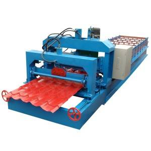 Quality Inspection for Colored Steel Roof Panel Making Roll Forming Machine