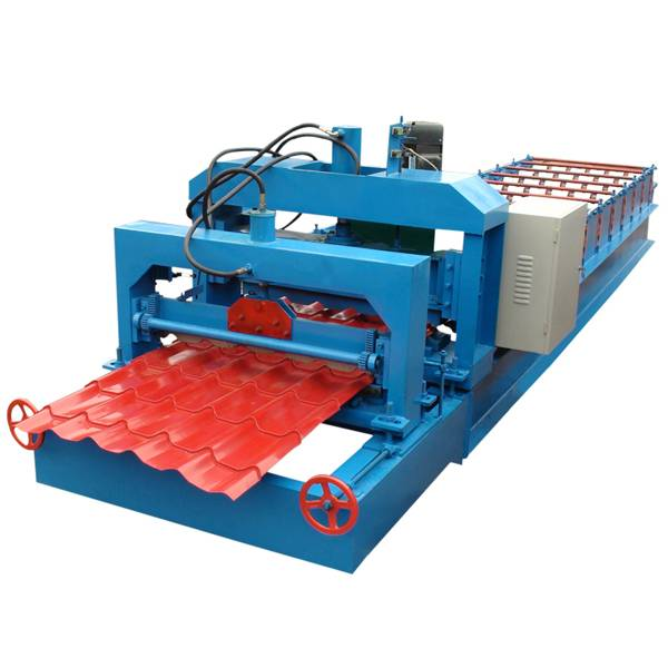 Popular Design for High Speed Nail Making Machine - Glazed Roof Panel Roll Forming Machine – Haixing Industrial