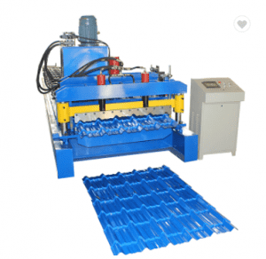 2019 Canton Fair hot sale model Glazed Tile Roll Forming Machine