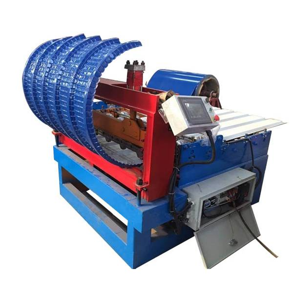 Factory making Roof Crimping Curving Machine - Roof Panel Curving Machine – Haixing Industrial