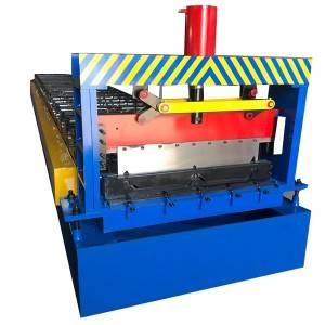Ordinary Discount Made in china portable sited standing seam roofing sheet roll forming machine