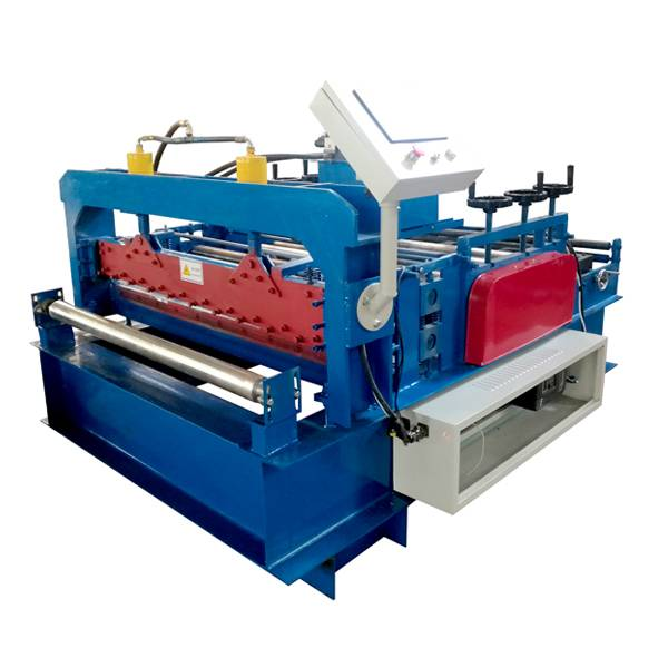 Personlized Products Steel Ceiling T Grid Roll Forming - Leveling Cutting Machine – Haixing Industrial