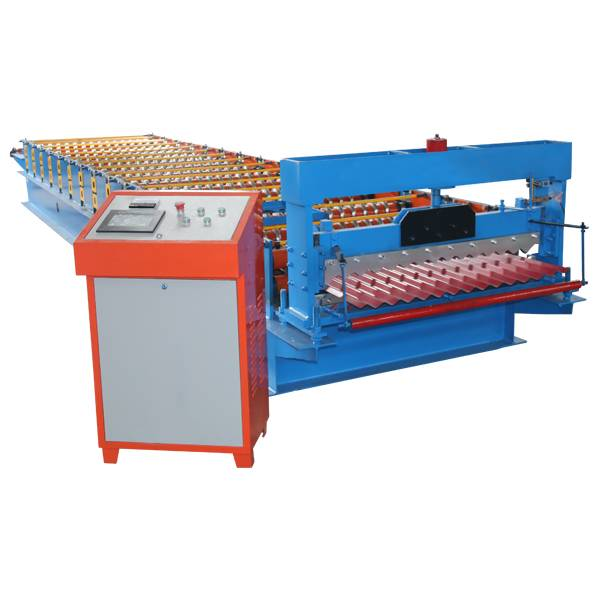 Best Price on Corrugated Roof Roll Forming Machine - Corrugated Roof Panel Roll Forming Machine – Haixing Industrial