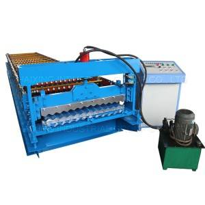 Bottom price Galvanized Steel Sheet Profile Metal Roofing Corrugated Roll Forming Machines
