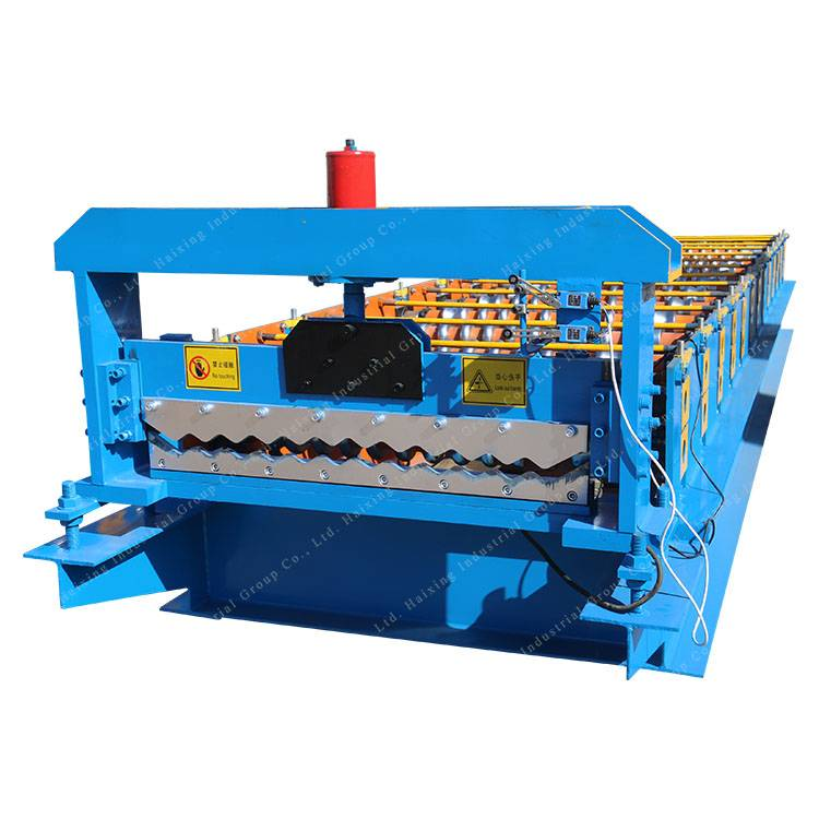 High Performance Hot Sale Hydraulic Roof Tile Hot Press Forming Machine Cold Roll Forming Machine Featured Image