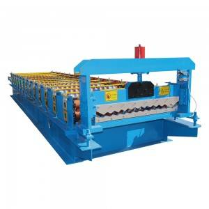 Professional China Metal Glazed Steel Roofing Tile Roll Forming Machine