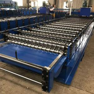 Discount wholesale Metal Roofing Sheet Corrugating Iron Sheet Roll Forming Making Machine,Cold Galvanizing Line