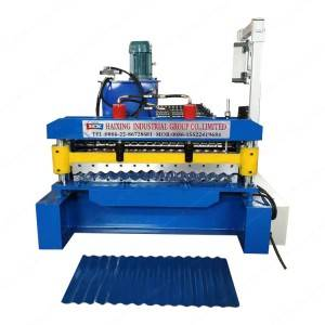 Corrugated Roof Metal Sheet Cold Roll Forming Machine