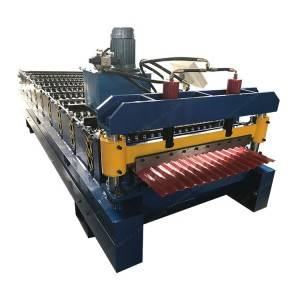 Lowest Price for Rib Glazing Embossing Metal Roofing Panel Roll Bamboo Galvanized Sheet Equipment Making Forming Line Machine